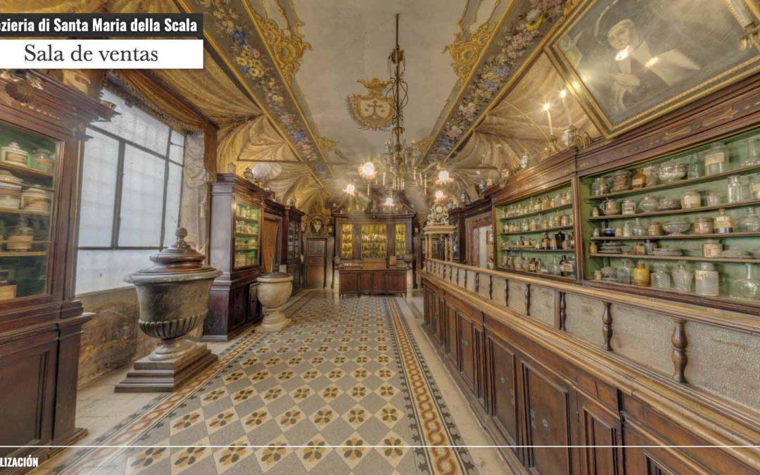 Spezieria di Santa Maria della Scala. Virtual Musealization Project